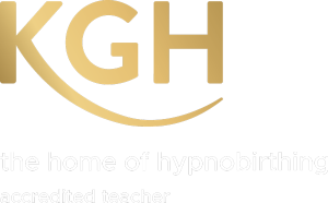 logo KG Hypnobirthing accredited teacher Netherlands