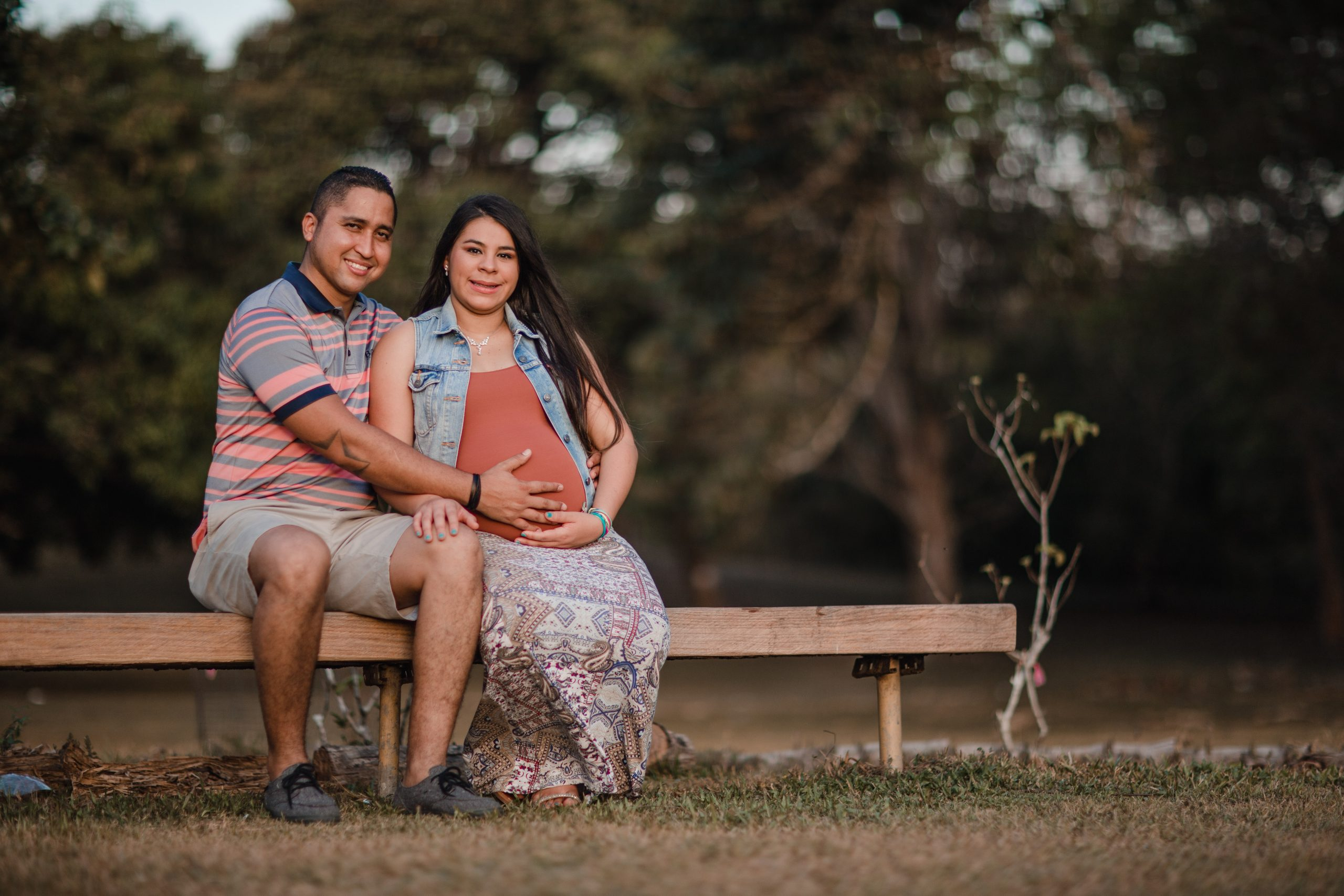 couple preparing feeling confident preparing for birth with hypnobirthing