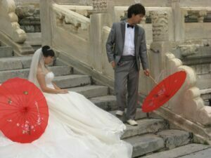 picture of chinese wedding in Beijing